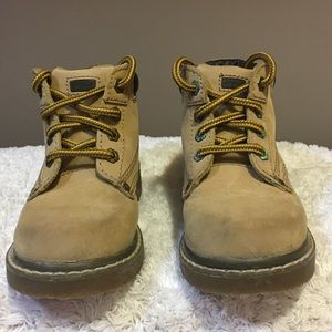 Buster Brown Toddler size 9 HARDHAT work boots